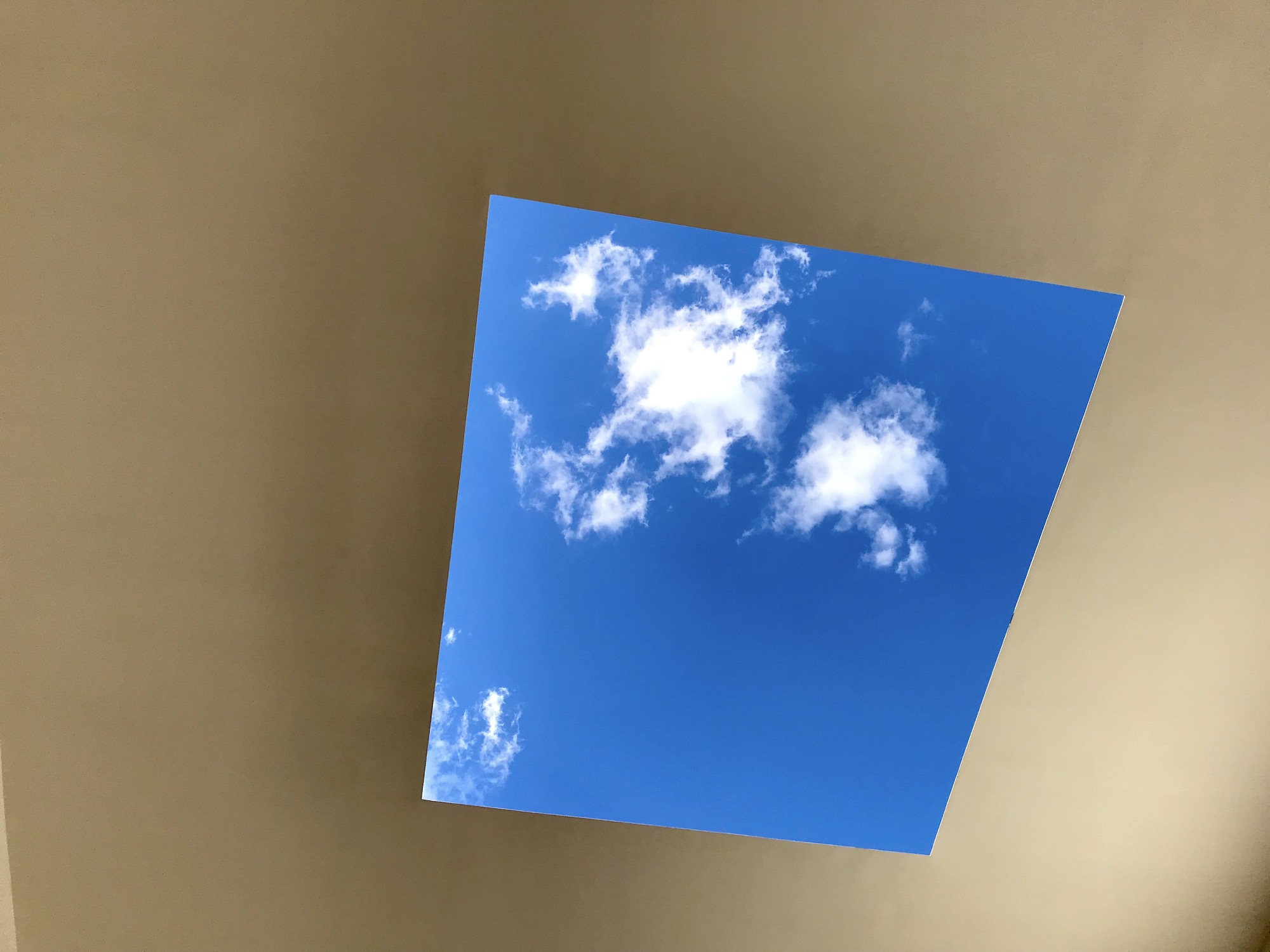 Photo of James Turrell's Meeting, 1980-86/2016 at MoMA PS1