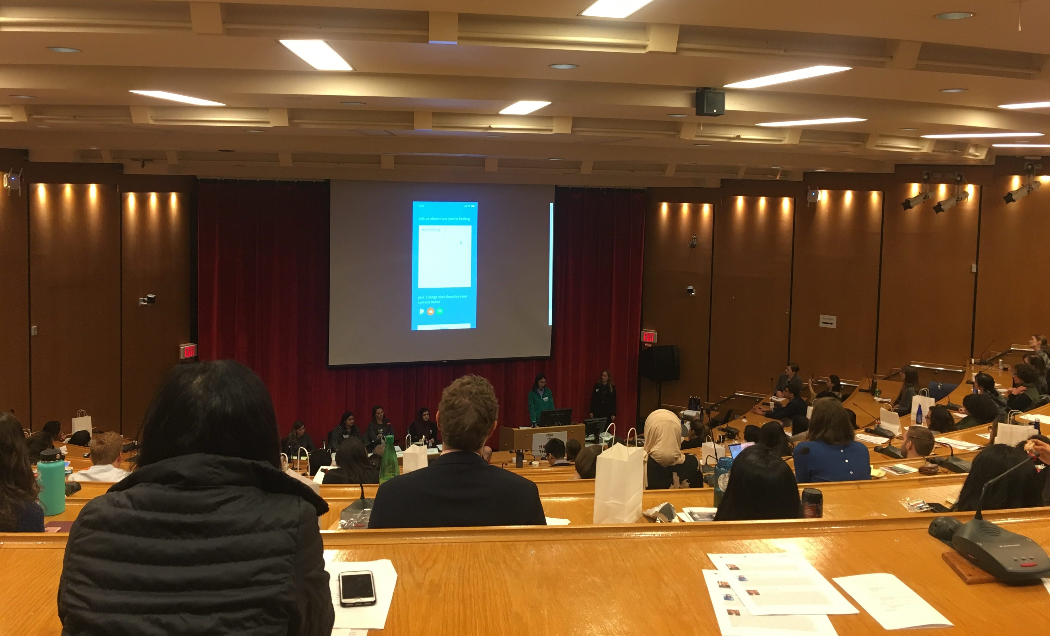 Presentation during Global Mental Health Conference at Harvard T.H. Chan School of Public Health